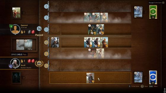 Gwent is a surprisingly entertaining card game
