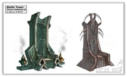 Battle Tower Throne